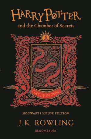 Harry Potter and the Chamber of Secrets – Gryffindor Edition de J. K. Rowling