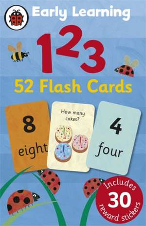 Ladybird Early Learning: 123 flash cards: Copii 0-5 ani de Ladybird