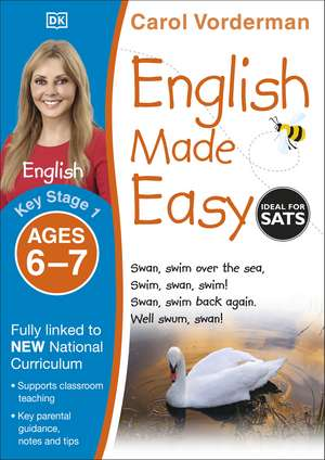 English Made Easy Ages 6-7 Key Stage 1 de Carol Vorderman