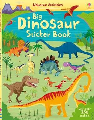 Dinosaurs Sticker Book de Fiona Watt