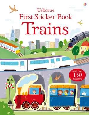 First Sticker Book: Trains de Dan Crisp