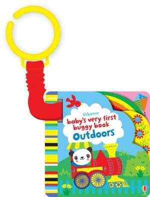 Baby's Very First Buggy Book Outdoors de Fiona Watt