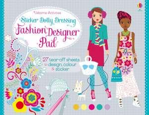 Sticker Dolly Dressing Fashion Pad