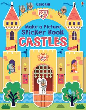 Brooks, F: Make a Picture Sticker Book Castles imagine