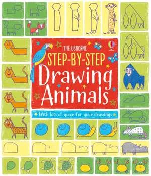 Step-by-Step Drawing Animals de Fiona Watt