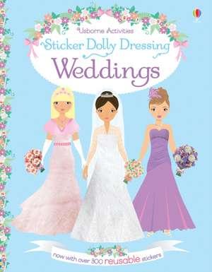 Sticker Dolly Dressing. Weddings