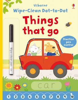 Wipe-Clean Dot-to-Dot: Things That Go