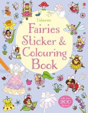Fairies Sticker & Colouring Book