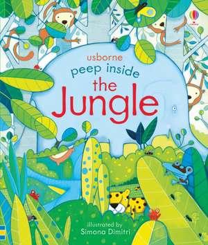 Peep Inside: The Jungle de Anna Milbourne
