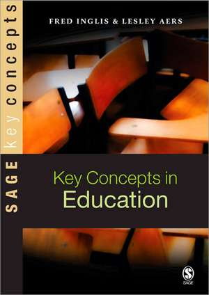 Key Concepts in Education de Fred Inglis