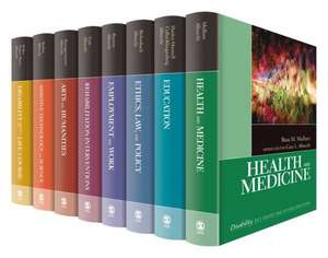 The SAGE Reference Series on Disability
