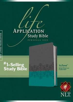 Life Application Study Bible-NLT-Personal Size de Tyndale House Publishers