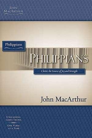Philippians de John F. MacArthur