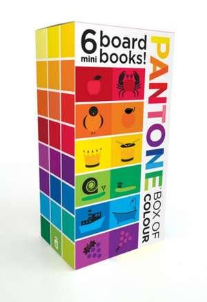 Pantone Box of Colour:6 Mini Books de  Pantone LLC