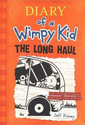 Diary of a Wimpy Kid # 9: The Long Haul de Jeff Kinney