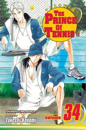 The Prince of Tennis, Vol. 34 de Takeshi Konomi
