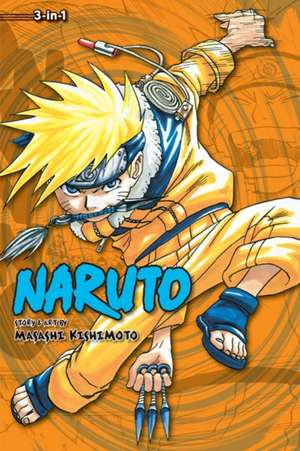 Naruto (3-in-1 Edition), Vol. 2