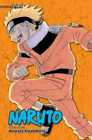 Naruto (3-in-1 Edition), Vol. 6