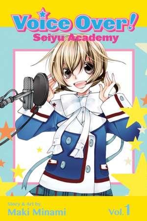 VOICE OVER SEIYU ACADEMY GN VOL 01 (C: 1-0-1) de Maki Minami