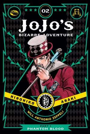 JoJo's Bizarre Adventure: Part 1--Phantom Blood, Vol. 2 de Hirohiko Araki