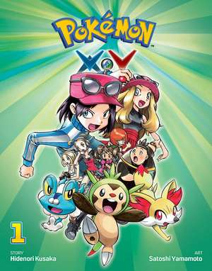 Pokemon X•Y, Volume 1