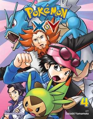 Pokemon X•Y, Vol. 4