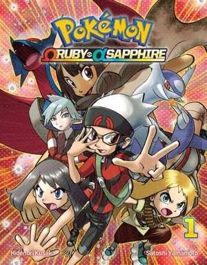 Pokémon Omega Ruby Alpha Sapphire, Vol. 1 de Satoshi Yamamoto