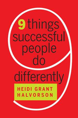 Nine Things Successful People Do Differently imagine