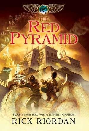 The Kane Chronicles, Book One: The Red Pyramid de Rick Riordan