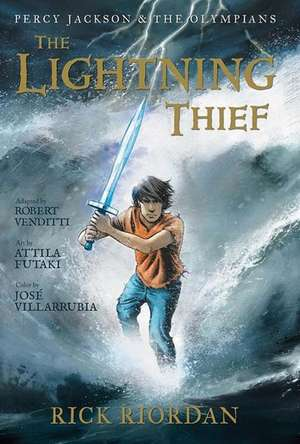 The Lightning Thief (The Graphic Novel): Percy Jackson and the Olympians: The Graphic Novels vol 1 de Rick Riordan