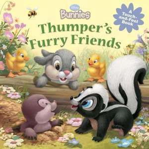 Disney Bunnies Thumper's Furry Friends de Disney Book Group
