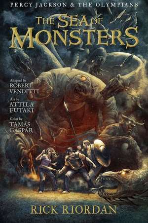 The Sea of Monsters - The Graphic Novel