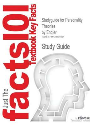 Studyguide for Personality Theories by Engler, ISBN 9780618214419 de 6th Edition Engler