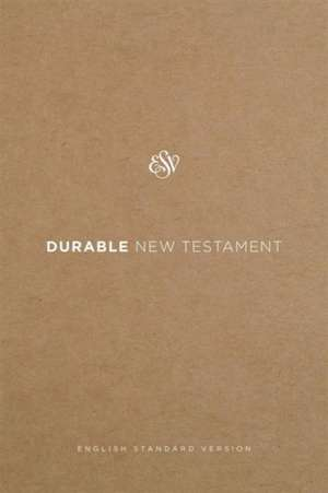 Durable New Testament-ESV-Water and Tear Proof Synthetic Paper