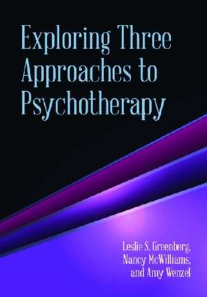 Exploring Three Approaches to Psychotherapy imagine