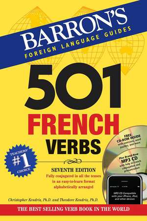 501 French Verbs de Christopher Kendris Ph.D.