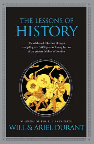 The Lessons of History imagine