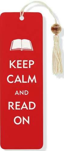 Semn de carte Keep Calm & Read on