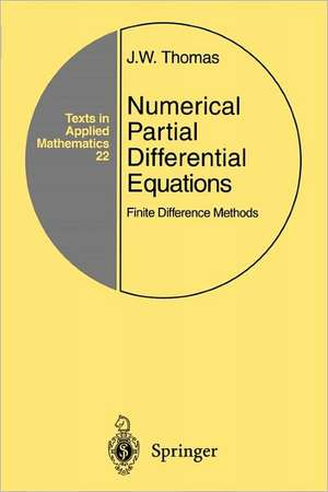 Numerical Partial Differential Equations: Finite D