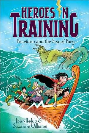 Poseidon and the Sea of Fury de Joan Holub
