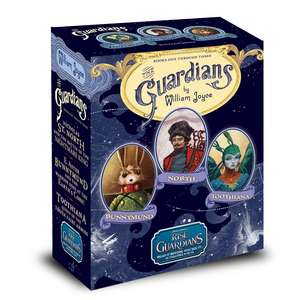 The Guardians: Nicholas St. North and the Battle of the Nightmare King; E. Aster Bunnymund and the Warrior Eggs at the Earth's Core!; Toothiana, Queen of the Tooth Fairy Armies de William Joyce