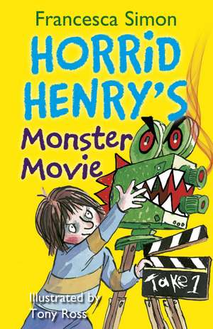 Horrid Henry's Monster Movie de Francesca Simon