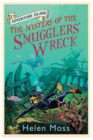 Moss, H: Adventure Island: The Mystery of the Smugglers' Wre de Helen Moss