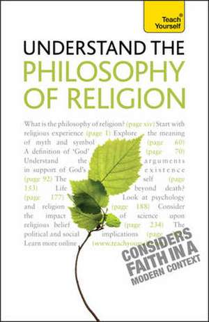 Understand the Philosophy of Religion: Teach Yourself de Mel Thompson