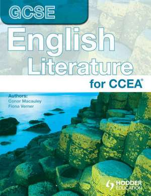 CCEA GCSE IN ENGLISH LITERATUR