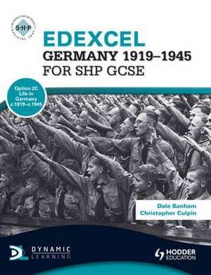 Edexcel Germany 1919-1945 for SHP GCSE