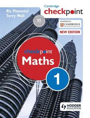 Checkpoint Maths: Book 1 de Ric Pimentel