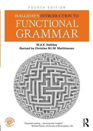Halliday's Introduction to Functional Grammar imagine