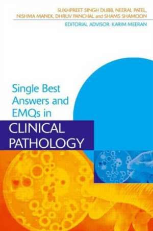 SBAs and EMQs in Clinical Pathology