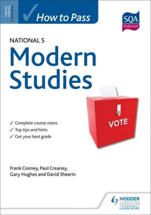 How to Pass National 5 Modern Studies